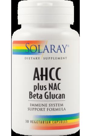 AHCC plus NAC & Beta Glucan